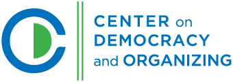 Center on Democracy and Organizing Logo